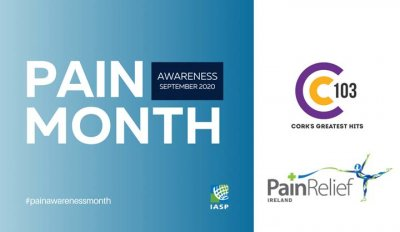 Dr Hegarty on C103 FM for Pain Awareness Month